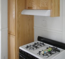 Natural Oak kitchen cabinets - Eureka, CA