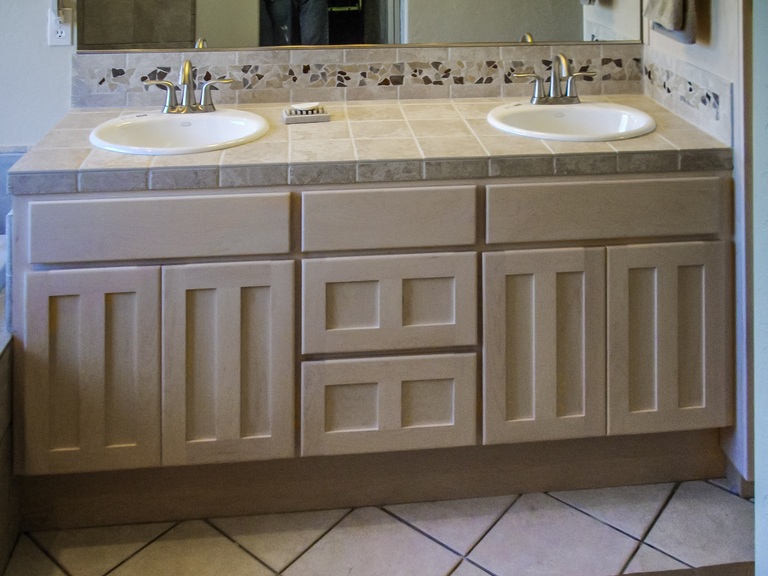 Bathrooms North Coast Cabinets - How to stain a bathroom vanity